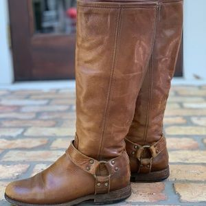 Frye Shoes - Frye Phillip Harness Tall Boots